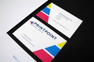 High quality business cards printpoint carlisle print point carlisle business cards bespoke sizes reheart Gallery